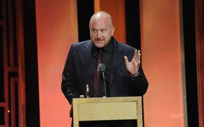 Louis CK speaking earlier this year.