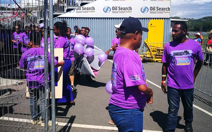 PNG human rights campaigners