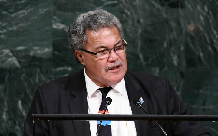Tuvalu tells COP23 of climate change attack