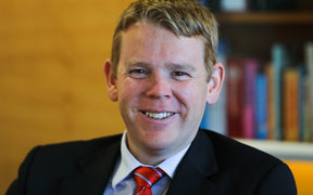 Leader of the House Chris Hipkins Nov 2017