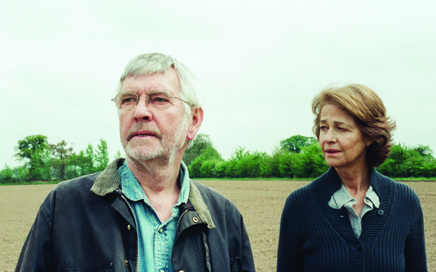 Charlotte Rampling and Tom Courtney in 45 Years.