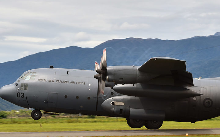 A Defence Force Hercules aircraft and a commercial fishing boat were called into help search for the man after he activated a distress beacon at 6:15am.