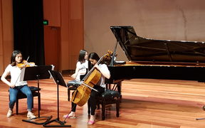 Korimako Trio - winners of 2017 ROSL Scholarship