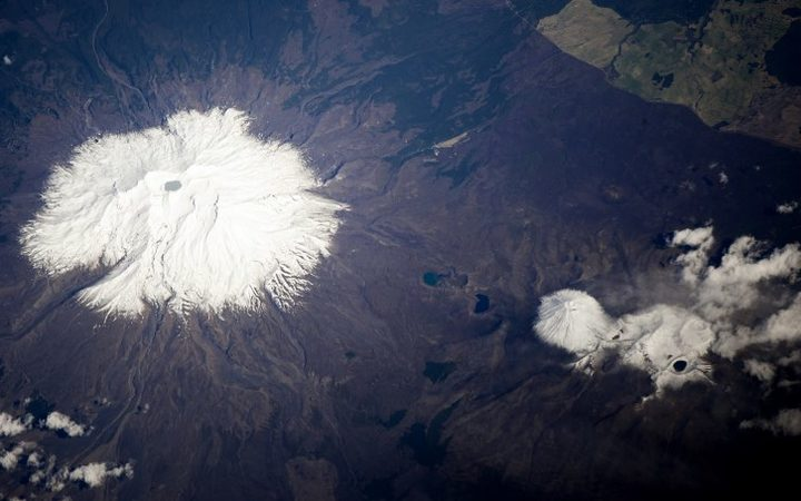 Rising activity in Mt Ruapehu
