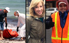 A body brought ashore in Libya and WDBJ7 TV reporter Alison Parker and Adam Ward