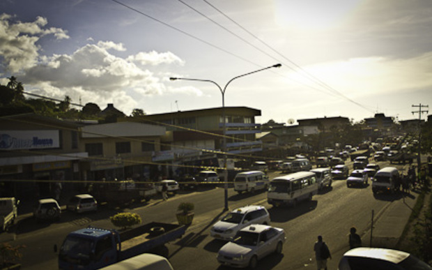 Downtown Honiara