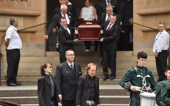 AC/DC's Malcolm Young farewelled in Sydney