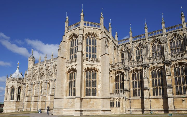 St.George's Chapel is in the grounds of Windsor Castle.