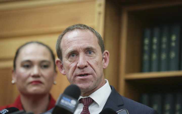 Justice Minister Andrew Little Photo: RNZ / Rebekah Parsons-King
