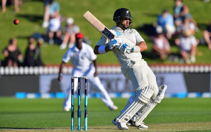 Taylor hits 50 as New Zealand pull away from West Indies