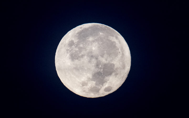 December supermoon dazzles in the night sky