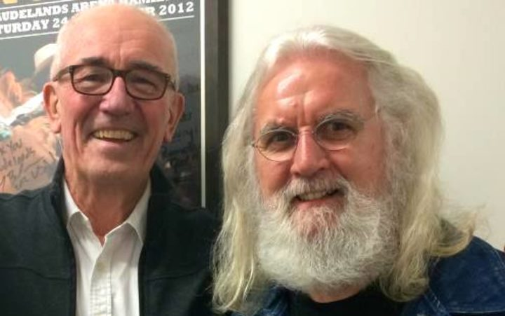Ian Magan and Sir Billy Connolly