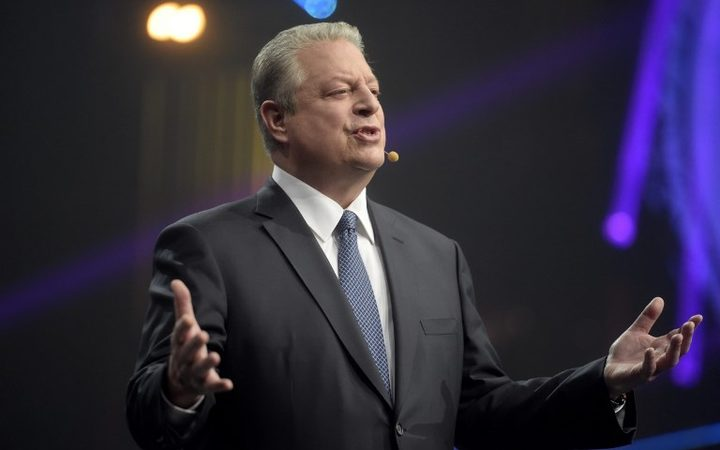 Former Vice President of the United States, Al Gore.