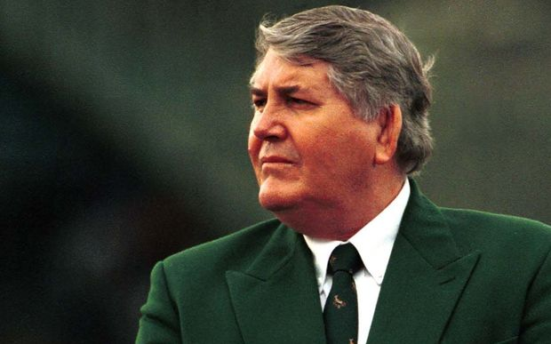 Louis Luyt - South African Rugby boss at the time of the 1995 World Cup.