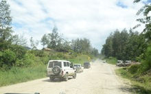 The Highlands Highway in Papua New Guinea