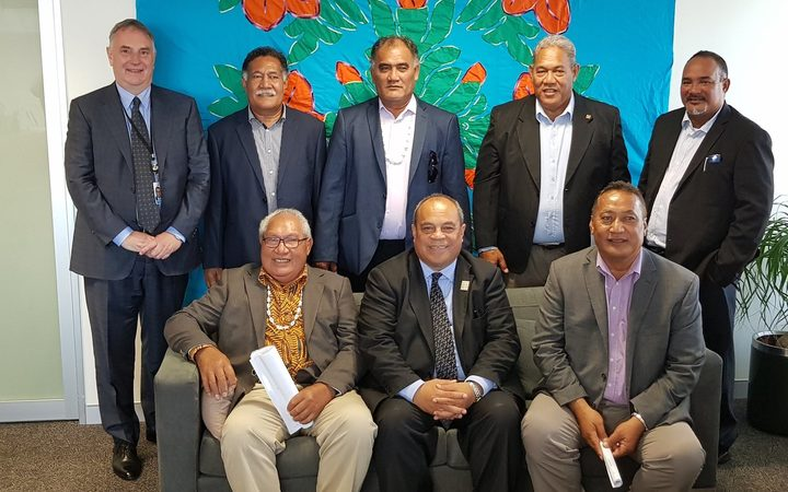 Discussed with Ulu of Tokelau & Ministers of Council projects to get faster internet connections & safer channels for ships to get to shore