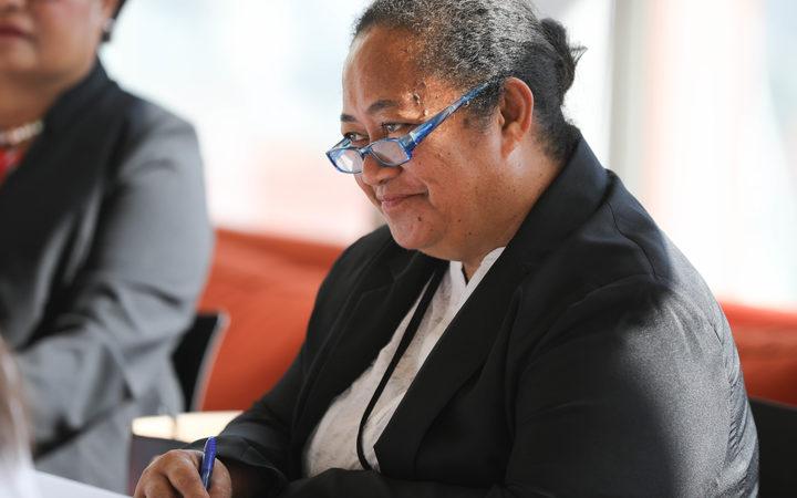 Tonga MP Losaline Ma'asi