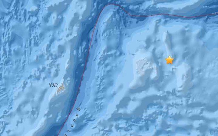 6.6 earthquake strikes off Palau