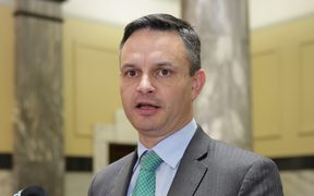 Green Party leader James Shaw.Green Party leader James Shaw.