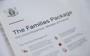 The Families Package. Grant Robertson reveals $5bn families package