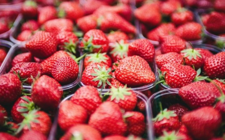 Microbes have been found to make strawberries more tasty