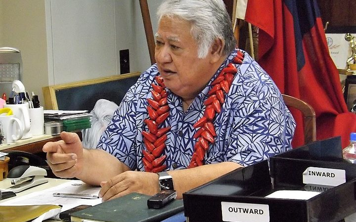 Samoa PM says no breach of customary land rights