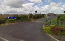Screenshot from a Google Streetview of Kaitaia Airport