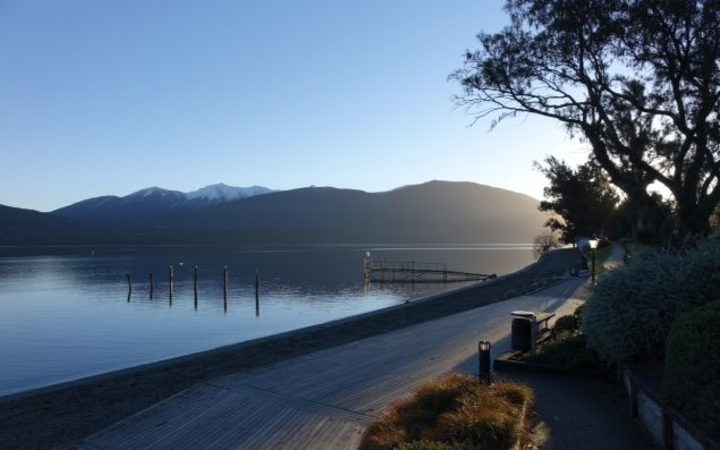 At present, treated wastewater is pumped into Lake Te Anau.
