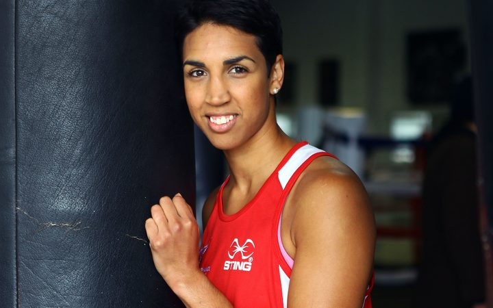 New Zealand boxer Alexis Pritchard