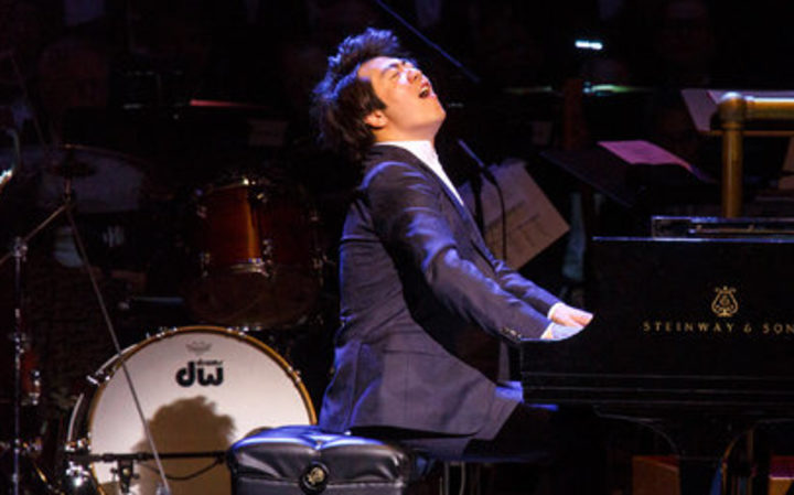 Pianist Lang Lang at Carnegie Hall