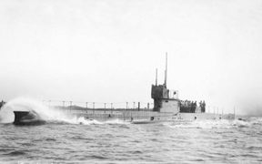 The submarine vanished in 1914, with 35 crew members on board.