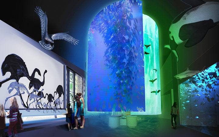 An artist's impression of the new $11m Te Papa exhibition