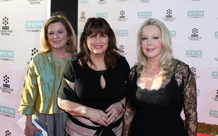 "(L-R) Heather Menzies-Urich, Debbie Turner and Kym Karath attend the 2015 TCM Classic Film Festival Opening Night Gala 50th anniversary screening of ""The Sound Of Music"" at TCL Chinese Theatre IMAX on March 26, 2015 in Hollywood, California."