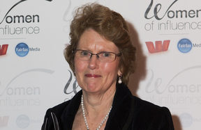 Lesley Elliott, the winner of the Supreme Award at last night's Women of Influence Awards