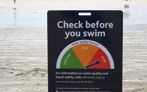 Despite the test results, Safeswim urged people to stay out of the water at Takapuna again today.