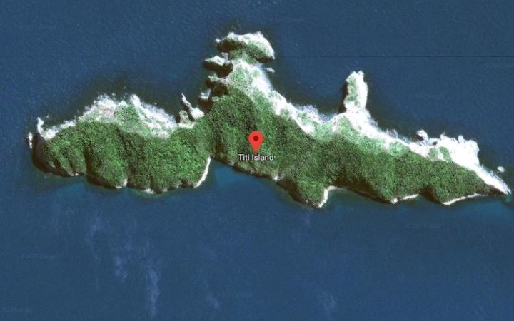 A young free diver is missing off Titi Island in the Marlborough Sounds.