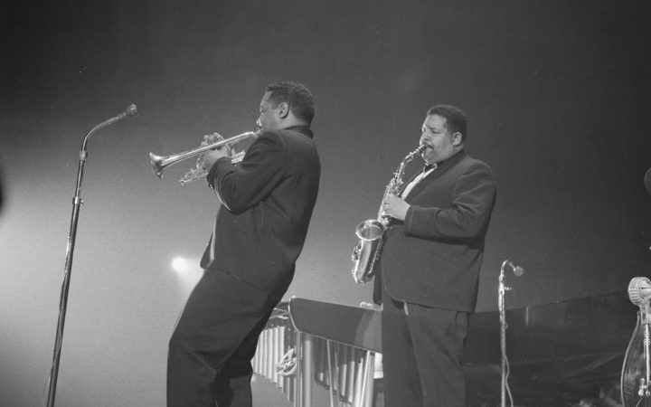Nat and Cannonball Adderley