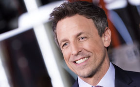 Host Seth Meyers said he will address the issue of Hollywood sexual abuse and harassment in the light of accusations made against movie mogul Harvey Weinstein and others.