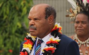 The PNG chief justice Sir Salamo Injia
