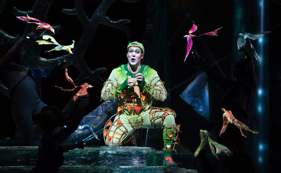 Nathan Gunn as Papageno in The Magic Flute