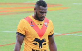 Kato Ottio represented PNG in Rugby League and Volleyball