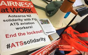 Fiji High Commission protest Wellington