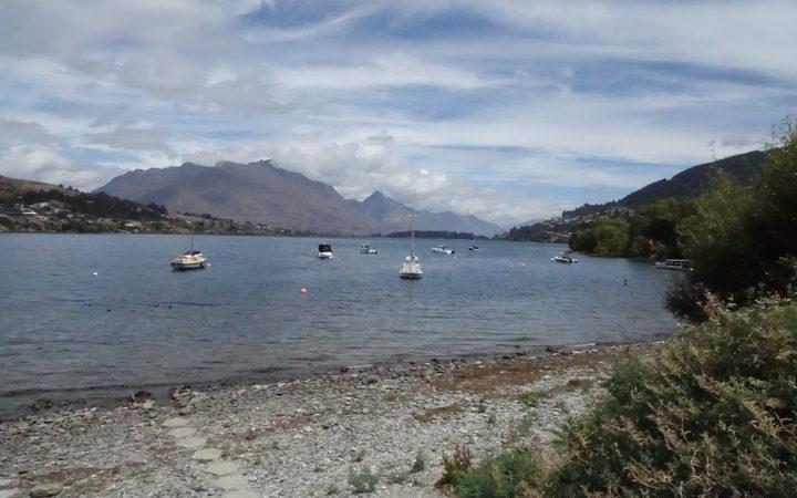 Lake Wakatipu from Frankton.