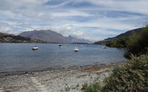 Lake Wakatipu from Frankton.
