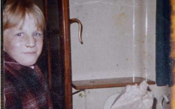 Abuse survivor Darryl Smith as a 10-year-old.Photo/ Darryl Smith