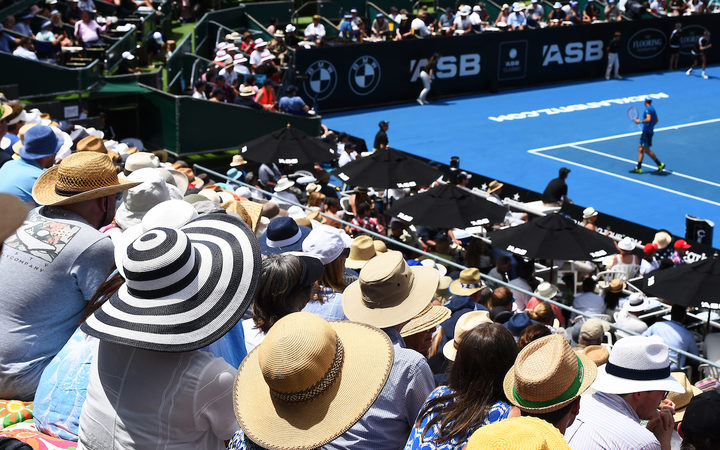 Heat a factor in del Potro's NZ final loss