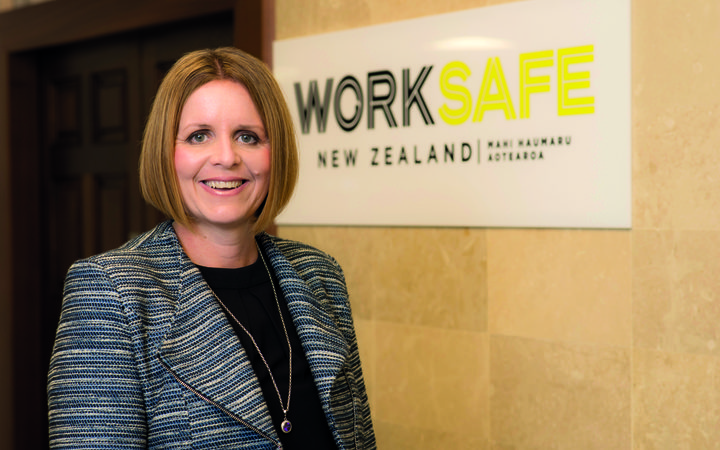 Nicole Rosie, CEO Worksafe NZ