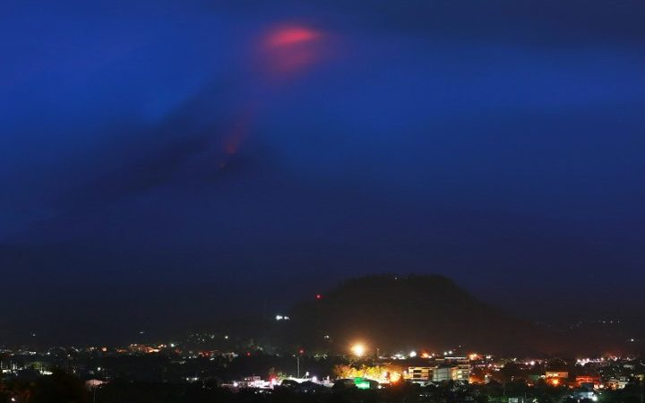 Alert Level Raised to 2 After Filipino Volcano Mayon Spews Steam