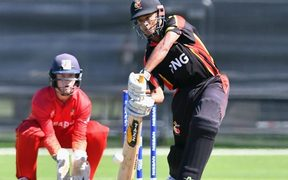 PNG could only muster 95 runs against Zimbabwe