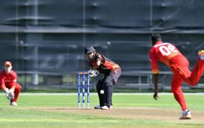 PNG lost to Zimbabwe by 10 wickets